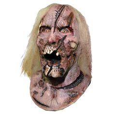 Ce masque en latex haut de gamme sous licence officiel The Walking Dead© représente un marcheur zombie brûlé et griffé au visage. Des cheveux sont présents sur le crâne! Le masque comprend le cou, ainsi avec un simple t-shirt votre corps est entièrement c