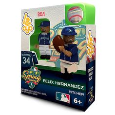 Seattle #Mariners Felix Hernandez Spring Training Collectible Mini Figure $12.99