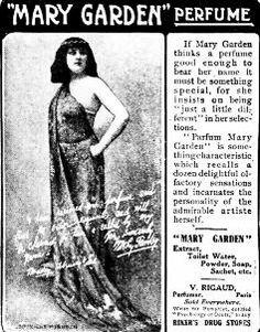 Mary Garden - perfume ad