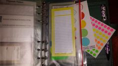 Debora Dennis - Scribbling Through Time: A Color Coded Planner  (I've used color coding for lots of things before.  I love color coded stuff because it makes it easy to see the category things belong in.)