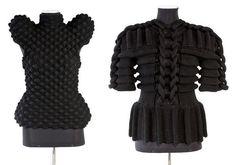 Sandra Backlund is a Swedish fashion designer who creates amazing handmade knitwear pieces