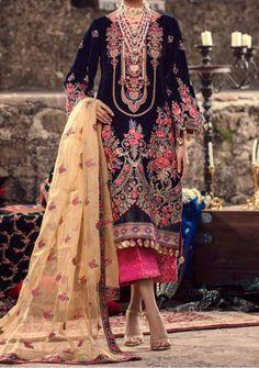 Velvet Pakistani Dress, Pakistani Dresses, Model Pictures, Dress Brands, Bohemian, Luxury, Fabric, Sleeves, Shopping