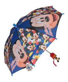 Mickey Mouse Umbrella by Mickey Mouse #zulily #zulilyfinds