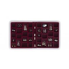 Neatnix Jewelry Stax 4 Compartment Organizer Tray Midnig https