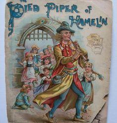 Tuck's Pied Piper Childrens Book