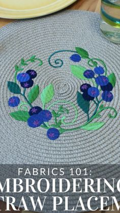Wool Quilts, Strawberry Blueberry, Beadwork, Fabric, Tejido, Tela, Pearl Embroidery, Cloths, Fabrics