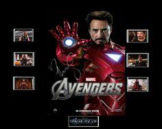 Avengers Film Cell Presentation  Iron Man by Everythingbutthatcom, £9.99