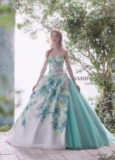 Ball Dresses, Prom Dresses, Formal Dresses, Colored Wedding Dresses, Bridal Dresses, Wedding Dress Blue, Victorian Era Dresses, Fantasy Gowns, Disney Princess Dresses