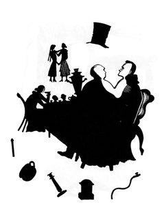 "Illustration for B. Pilnyak's ""Stories"". 1932. Wood engraving"