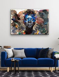 Chris Denovan | The Growing Moon - for sale | StateoftheART Canvas Size, Oil On Canvas, Contemporary Portrait Artists, Sun Painting, South African Art, Original Paintings, Moon, Fine Art, Abstract