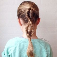 The DNA braid- if ONLY I could do my own hair like this!