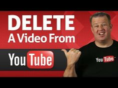 How to Delete a Video From Youtube- Deleting a video from YouTube is simple, watch to see just how easy it is! derraleves.com #YouTubeTraining #YouTubeTips