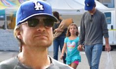 Jason Bateman looks glum during family outing in LA