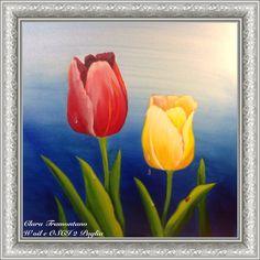 Alba sui tulipani