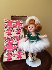 Vintage Vogue PLW Ginny Doll, 1954, For Fun Time Ice Skater, Her Original Box