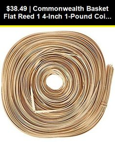 Basketry Basket Weaving Reed Coils Random Lengths Round Size #2 Approx Basketry & Chair Caning 2.5 Lbs+