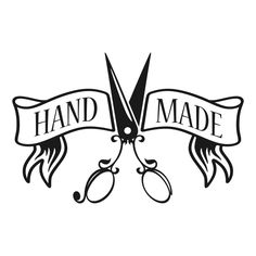 Hand Made Crafters Scissors Decal Cuttable Design by CuttableSVG Silhouette Design, Silhouette Cameo, Vintage Country Weddings, Sketch Note, Etiquette Vintage, Dog House Plans, Stoner Art, Modelista, Sewing Art