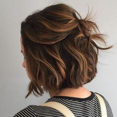 Fall faves: caramel sass and short-haired class. @hairbycarly #wellahair #wellalife