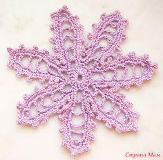 Мастер-класс по вязанию ажурного цветка (ирландское кружево) - Клуб рукоделия - Страна Мам