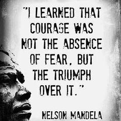 #WednesdayWisdom #Mandela #quote #courage #oils4health