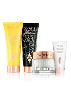 DAILY GLOWING GODDESS RITUAL SKINCARE KITS     Cleanser, Moisturizer and Primer Kit