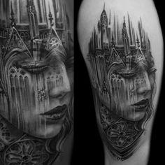 11 tatuagens inspiradas em obras de arquitetura | Raquel Almeida |