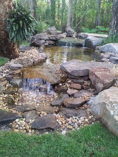 Nice 80 Gorgeous Backyard Ponds and Water Garden Landscaping Ideas https://insidecorate.com/80-gorgeous-backyard-ponds-water-garden-landscaping-ideas/ #gardeninglandscaping