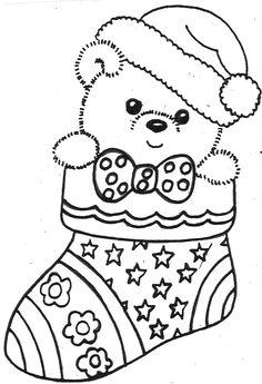Kerst Kleurplaten Kerstman Tekening.68 Beste Afbeeldingen Van Kerst Winter Kleurplaten