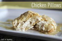 Chicken Pillows!.... Such an EASY dinner to make and one your whole family is going to LOVE!