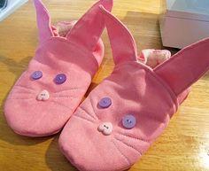 pantofole da coniglietto