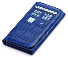 This wallet in the best shade of blue. | 22 Doctor Who Products Only A Real Fan Will Appreciate