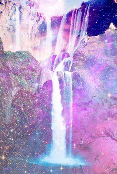 glitterwaterfall