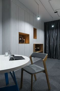 Biuro na Burakowskiej 14 lokal 15 #burakiwska14 #office #furniture #lamps #interiors #chair #modernoffice