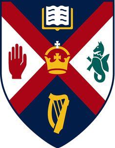 University of Edinburgh British Football, Queen's University, Crests, Belfast, Northern Ireland, Football Team, Edinburgh, Irish, Queens