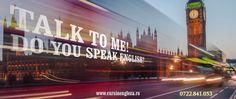 Start English! Talk to me.