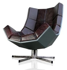 The Villain Chair is made by SUCK UK