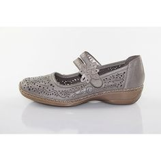 Rieker Damen Slipper beige 41372-63