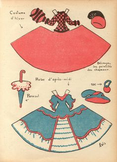 Paper Doll - French (2 of 2)