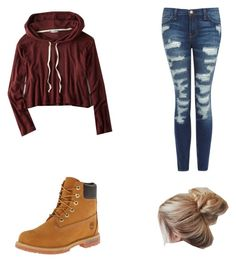 """""""Taylor caniff imagine"""" by ellacamdenashlynnariana on Polyvore featuring American Eagle Outfitters, Current/Elliott and Timberland"""