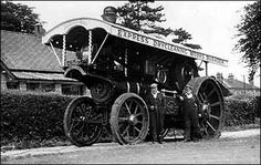 Rushden Research Group: Express Dry Cleaners - Mr Mills Steam Tractor, Road Transport, Heavy Duty Trucks, Steamers, Steam Engine, Stirling, Go Kart, Old Trucks, Locomotive
