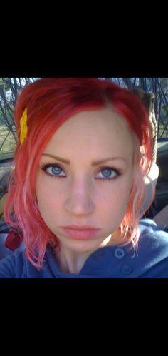 Pink/blonde hair by Jessica Lehman