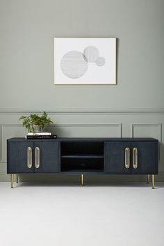 Plywood Furniture, Hanging Furniture, Design Furniture, Cool Furniture, Media Furniture, Furniture Online, Eclectic Furniture, Sideboard Furniture, Blue Furniture