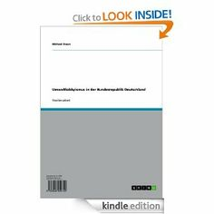 Umweltlobbyismus in der Bundesrepublik Deutschland (German Edition) by Michael Braun. $17.23. 24 pages. Publisher: GRIN Verlag GmbH; 1 edition (July 14, 2011)