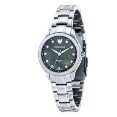 b693cd91ac2 Swiss Eagle Women s SE-6047-44 Silver Stainless-Steel Swiss Quartz Watch   Swiss Eagle  Amazon.ca  Watches