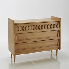 Malu solid pine chest The vintage look of this oak-stained solid pine chest of drawers works really well in any home. 3 Drawer Chest, Drawer Unit, Chest Of Drawers, Contemporary Dressing Tables, Solid Oak Beds, Commode Design, Pine Chests, Home Furnishing Accessories, Oak Stain