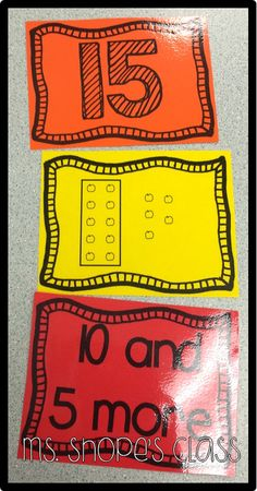 teen number place value matching