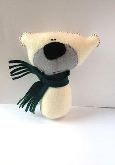 Plush Handmade Eco Friendly Toy  Stocking Stuffer  by TheCocoRose, $15.00