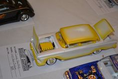 57 Ford Custom by Leroy.The fade paint is reminiscent of those done by the famous Gene Winfield.
