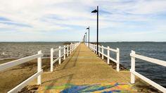 Pandanus Beach, Wynnum, Brisbane, Australia