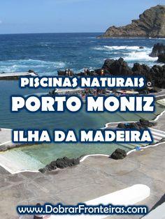 Piscinas naturais de Porto Moniz - Ilha da Madeira